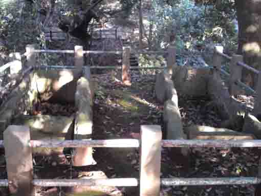 stone coffins of Akedo Old Mound