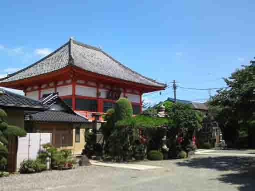 the main hall of Kaigansan Anyoji Temple