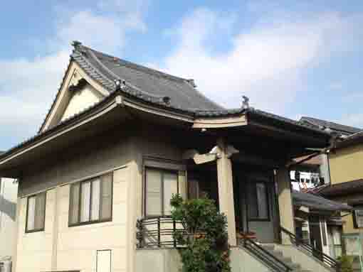 the main hall of Chikoin in Kasai
