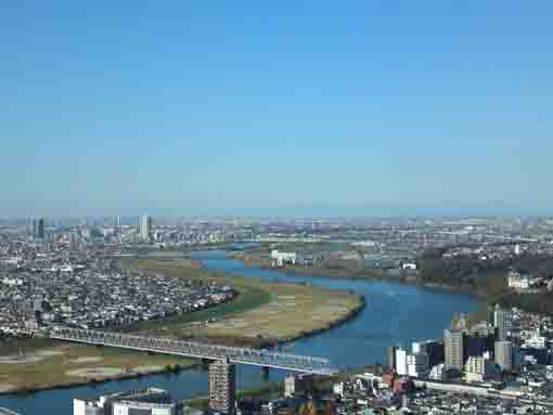 Edogawa River from I-link Town