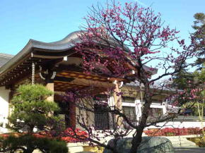 The kyakuden hall of Guhoji Temple