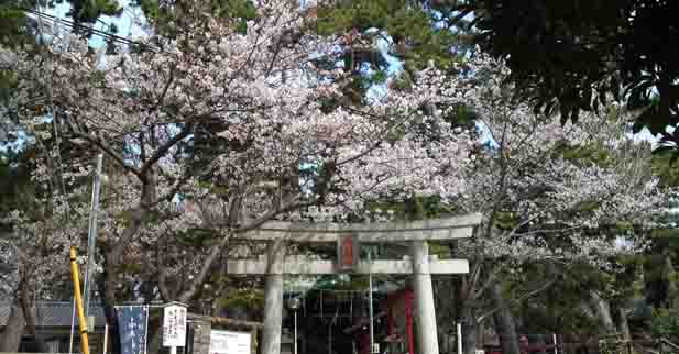 Shuwa Jinja Shrine in Hirata