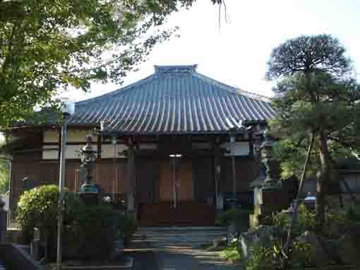 the main hall of Horie Daishi