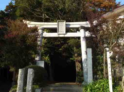 The first torii gate of Komagata Grand Shrine