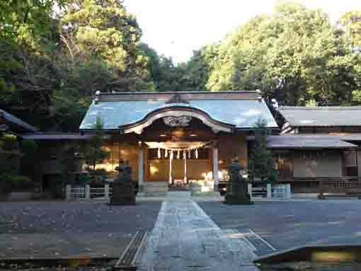 the main hall of Komagata Grand Shrine