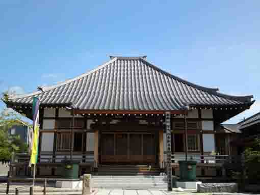 the main building in Korinji Temple