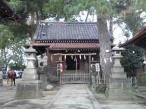 Shinmei Jinaja Shrine in Onigoe