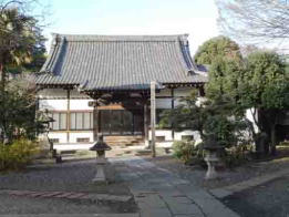 the main hall of Ankokusan Soneiji Temple
