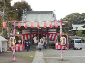 The Cock Fair in Hokekyo-ji
